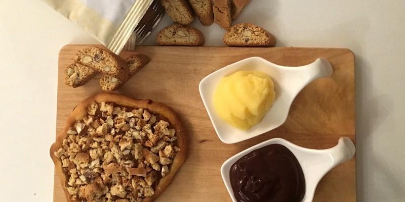 Crostata albicocche e Cantuccini di Milena