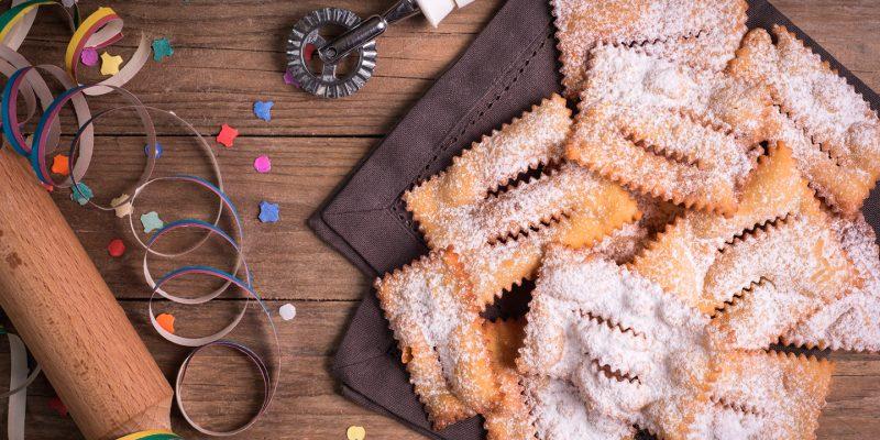 Carnevale: giro dei dolci da nord a sud