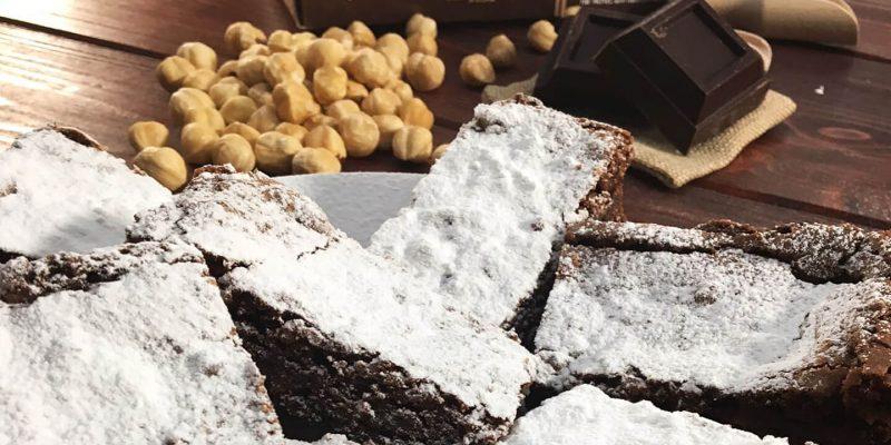 La ricetta della chef: Brownies con Cuor di Toscana alle nocciole