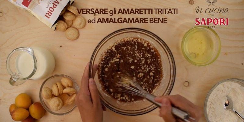 Torta al Cioccolato con Amaretti e Albicocche