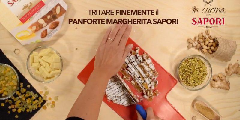 Tartufi al cioccolato bianco e Panforte Margherita